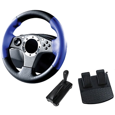 GameFitz GF-983 3-in-1 Pro Racing Wheel
