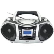 Naxa® NPB-250 Portable MP3/CD Player With Text Display, AM/FM, USB Input and SD/MMC Card Slot