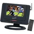 Supersonic® 1440 x 23 SC-491 7in. Portable LCD Television With DVD Player