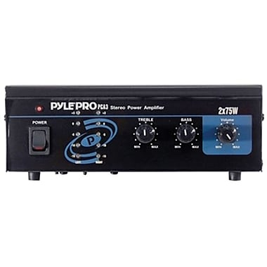 Pyle® PCA3 2 Channel Stereo Power Amplifier, 2 x 75 W