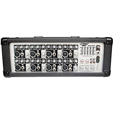Pyle® PMX801 8 Channel Powered PA Mixer/Amplifier
