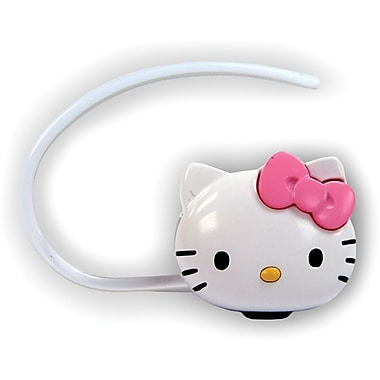 Hello Kitty® KT4700 Bluetooth Headset Kit, White