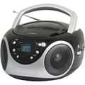 Supersonic® SC-507 Black Portable MP3/CD Player With AM/FM Radio
