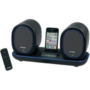 Jensen® JiSS-600i Docking Digital Music System With Wireless Speakers For iPod/iPhone