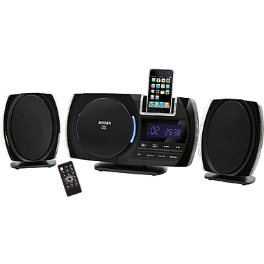 Jensen® JIMS-206i Docking Digital Music System With CD For iPod and iPhone