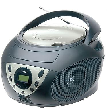 Naxa® NPB-255 Portable MP3/WMA/CD Player With AM/FM Stereo Radio and USB Input Jack