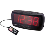 Supersonic® SC-373 Digital Jumbo Alarm Clock With AM/FM Radio