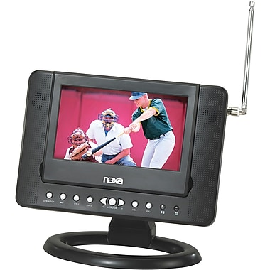 Naxa® 480 x 234 NTD-7561 7in. Widescreen Digital LCD Television With Built-In DVD Player