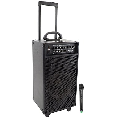 Pyle® VHF Wireless Portable PA System/Echo With iPod Dock, 800 W