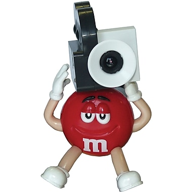 M&Ms® M9CC1 USB Webcam, Red
