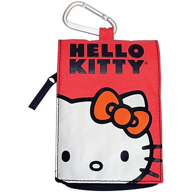 Hello Kitty® KT4215 Multi-Purpose Carrying Case, Red/White