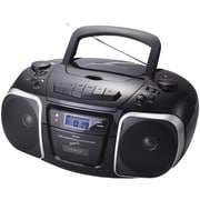 Supersonic® SC-765 MP3/CD Player With USB/AUX Inputs, Cassette Recorder and AM/FM Radio