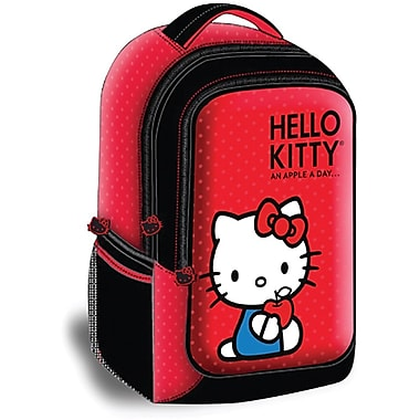 Hello Kitty® KT4337 Backpack Style Laptop Case, Red