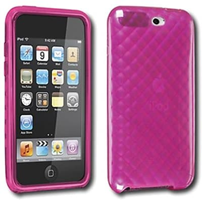DLO DLA67104D Softshell Felixble Case For iPod Touch 3G Pink