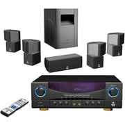 Pyle® PT598AS 5.1 Channel Digital Home Theater AM/FM Receiver Surround Sound Package, 350 W