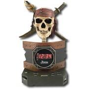 Disney PC300ACR Pirates Of The Caribbean Alarm Clock Radio, Multi color