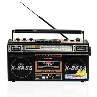 Quantum® FX J-21U Radio Cassette With USB/SD