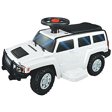 New Star H3 Ride On Toy Car, White