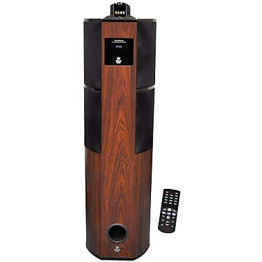 Pyle® PHST92ICW 2.1 Channel Digital Home Theater Tower With iPod and iPhone Docking Station, 600 W
