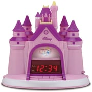 Disney P350ACR Princess Storytelling Alarm Clock Radio, Pink