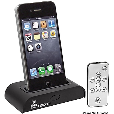 Pyle® PIDOCK1 Universal iPod/iPad/iPhone Docking Station For Audio Output Charging