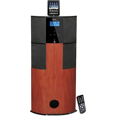 Pyle® PHST94IPCW 2.1 Channel Digital Home Theater Tower With Docking Station For iPod/iPhone/iPad