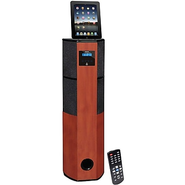 Pyle® PHST96IPCW 2.1 Channel Digital Home Theater Tower With Docking Station For iPod/iPhone/iPad