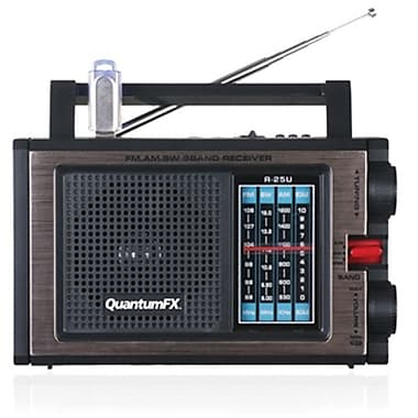 Quantum® FX R25U AM/FM/SW Radio With USB