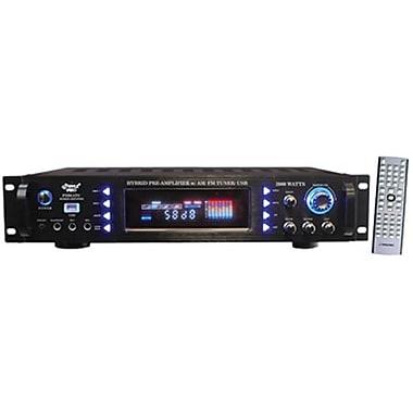 Pyle® P3201ATU Hybrid Pre Amplifier With AM/FM Tuner/ USB, 3000 W
