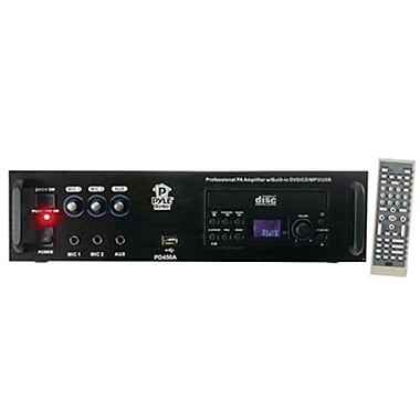 Pyle® PD450A Professional PA Amplifier With Bulit In DVD/CD/MP3/USB/70V Output, 400 W
