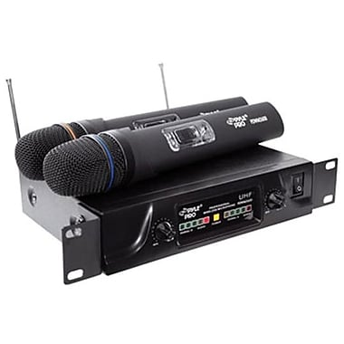 Pyleaudio 93576627M Wireless Handheld Microphone, Black