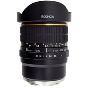Rokinon® FE8M 8mm f/3.5 Aspherical Fisheye Lens For Sony Alpha Mount