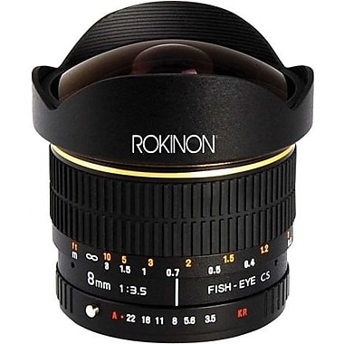Rokinon® FE8M 8mm f/3.5 Aspherical Fisheye Lens For Olympus 4/3 Mount