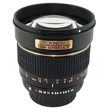 Rokinon® 85M 85mm f/1.4 Aspherical Lens For Sony DSLR Camera