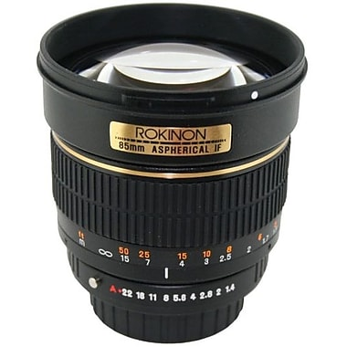 Rokinon® 85M 85mm f/1.4 Aspherical Lens For Olympus DSLR Camera