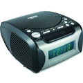 Naxa® NRC-175 Digital Alarm Clock With Digital Tuning AM/FM Radio and CD Player