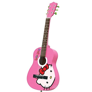 Hello Kitty® 88099 Acoustic Guitar, Pink