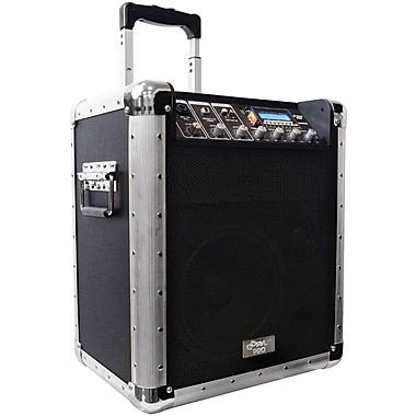 Pyle® PCMX260MB Battery Powered Portable PA System, 200 W