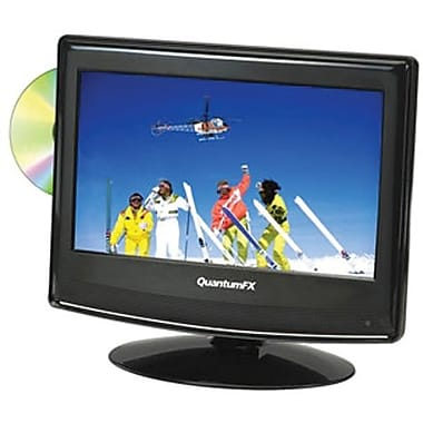 Quantum® FX 1366 x 768 1312D 13.3in. LED Television With ATSC/NTSC and Built-In DVD Player