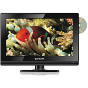 Quantum® FX 1366 x 768 1612D 15.6 LED Television With ATSC/NTSC Tuner and Built-In DVD Player