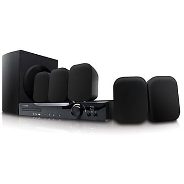Coby® DVD978 5.1 Channel DVD Home Theater System With HDMI Output, 210 W