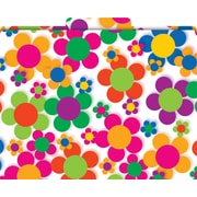 Flower Power Decorative File Folders, Letter, 3 Tab