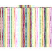 Stripes Decorative File Folders, Letter, 3 Tab