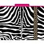 Zebra Decorative File Folders, Letter, 3 Tab