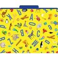 ABC Animals Decorative File Folders, Letter, 3 Tab