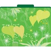 Barker Creek Go Green Decorative File Folders, Letter, 3 Tab, 12/pack (LL1326)