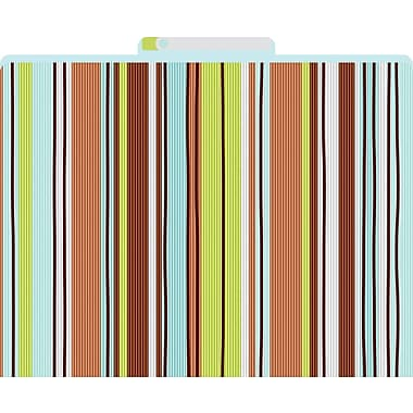 Ribbon by the Yard Decorative File Folders, Letter, 3 Tab