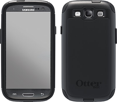 OtterBox Commuter Case for Samsung Galaxy S3, Black