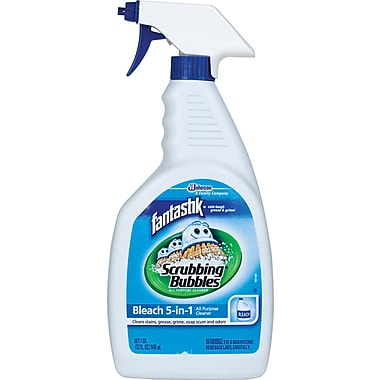 Fantastik Scrubbing Bubbles Bleach 5-in-1 All Purpose Cleaner, 32 oz.