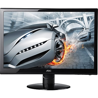 AOC e2752She 27-Inch Class LED-Lit Monitor, 1920 x 1080 , 300 cd/m2, 2ms, 20M:1DCR, VGA (2) HDMI, Wall Mountable
